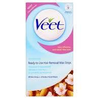 Veet Wax Strips For Sensitive Skin Pack of 20