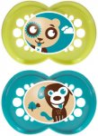Mam Original Soother 6+m Green/Turq Pack of 2