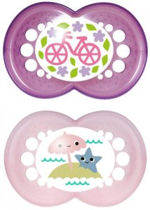 Mam Original Soother 6+m Purple Pack of 2