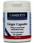 Lamberts Ginger Capsules 120mg Pack of 60