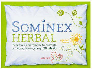 Sominex Herbal Tablets  Pack of 30