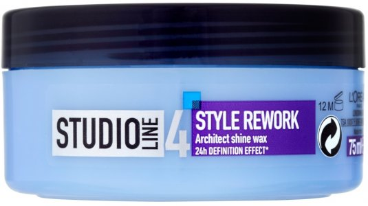L'Oreal Studio Line 4 Style Rework Architect Shine Wax 75ml