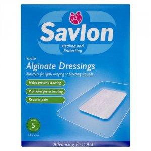 Savlon Alginate Dressing Pack of 5