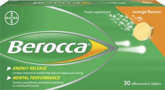 Berocca Effervescent Orange Pack of 30