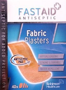 Fastaid Plasters Fabric Pack of 40