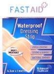 Fastaid Plasters Waterproof Strip 6.3cm x 1m