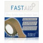 Fastaid Zinc Oxide  Tape 2.5cm x 5m