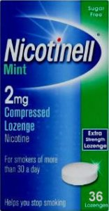 Nicotinell 2mg Lozenge Mint Pack of 36