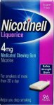 Nicotinell 4mg Chewing Gum Liquorice Pack of 96