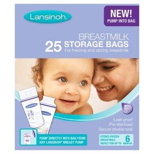 Lansinoh Breast Milk Storage Bags Pack of 25