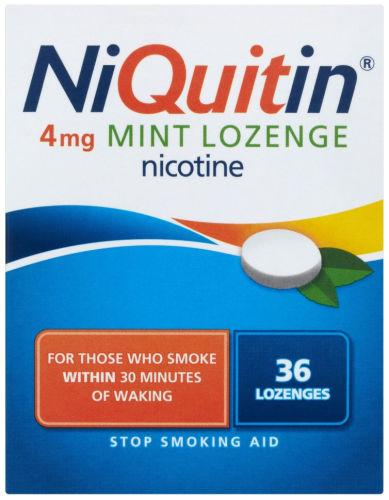 Niquitin 4mg Lozenges Mint Pack of 36