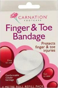Carnation Finger & Toe Bandage 4m
