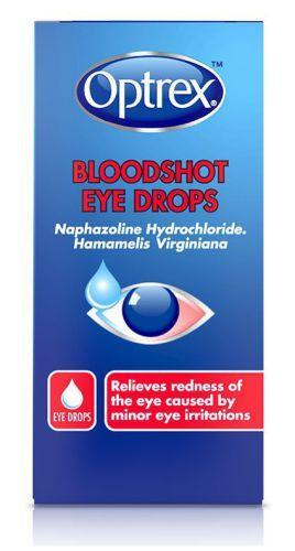 Optrex Bloodshot Eye Drops 10ml