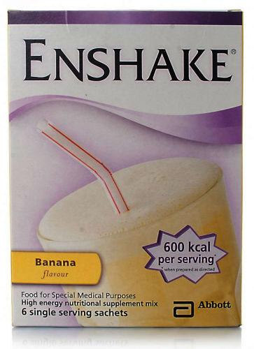 Enshake Sachet Banana 96.5g Pack of 6