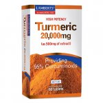 Lamberts Turmeric Tablets 20,000mg Pack of 60