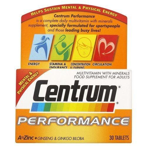 Centrum Performance Tablets Pack of 30