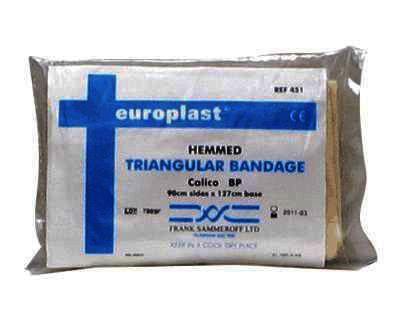 Medicare Calico Bandage Bp Triangular