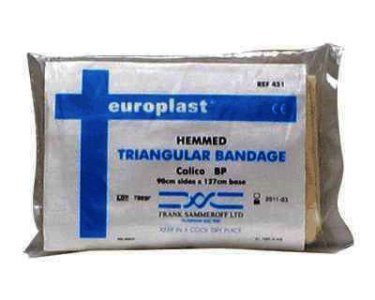 Medicare Calico Bandage Bp Triangular