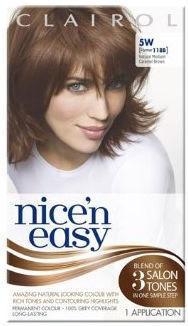 Clairol Nice n Easy Natural Medium Caramel Brown 5W (formerly 118B)