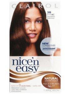 Clairol Nice n Easy Natural Medium Reddish Brown 5RB (formerly) 118C