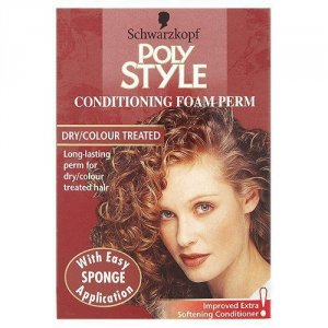 Schwarzkopf Poly Style Foam Perm Dry/colour Treated