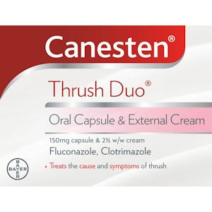 Canesten Oral Capsule & 10g Cream Duo