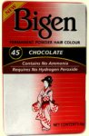 Bigen Permanent Powder Hair Colour Chocolate 45