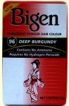 Bigen Permanent Powder Hair Colour Deep Burgundy 96