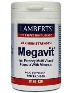 Lamberts Megavit Tablets Pack of 120