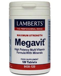 Lamberts Megavit Tablets Pack of 120