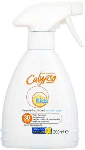 Calypso Kids Disappearing Lotion Spray SPF30 200ml