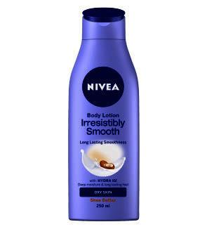Nivea Irresistibly Smooth Shea Body Lotion 250ml