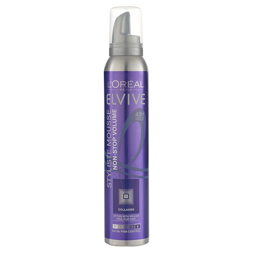 L'Oreal Elvive Styliste Mousse Non Stop Volume 200ml