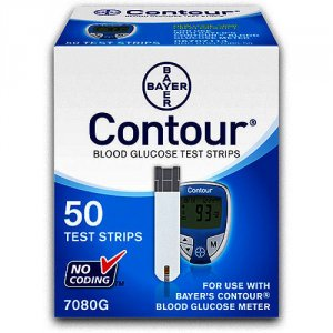 Contour Blood Glucose Test Strips Pack of 50