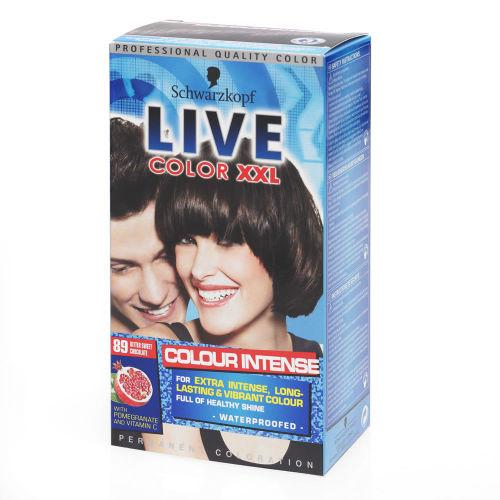 Live Color Xxl Permanent Hair Colourant Bittersweet Chocolate 89