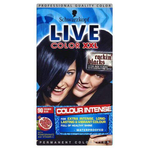 Live Color Xxl Permanent Hair Colourant Cosmic Blue 90