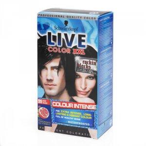 Live Color Xxl Permanent Hair Colourant Deep Black 99
