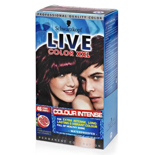 Schwartzkopf Live Colour XXL Cyber Purple 46