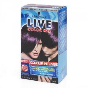 Live Color Xxl Permanent Hair Colourant Mystic Violet 87