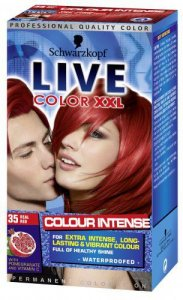 Live Color Xxl Permanent Hair Colourant Real Red 35