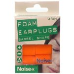 Noise-X Earplugs Foam Barrel Pack of 2
