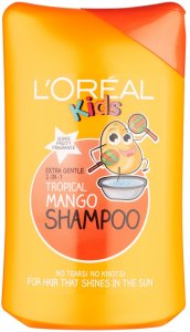 L'Oreal Kids Extra Gentle 2 in 1 Tropical Mango Shampoo 250ml