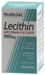 HealthAid Lecithin 1000mg Capsules Pack of 30