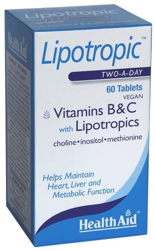 HealthAid Lipotropic Tablets Pack of 60