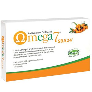 Pharma Nord Omega 7 Sea Buckthorn Oil Capsules Pack of 150