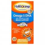 Haliborange Kids Omega 3 Chewable Pack of 90 x 3