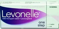 Levonelle One Step 'The Morning After Pill' Pack of 1 Non Emergency
