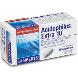 Lamberts Acidophilus Extra 10 Capsules Pack of 30
