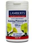Lamberts Evening Primrose Oil & Starflower Oil Caps 1000mg Pack of 90