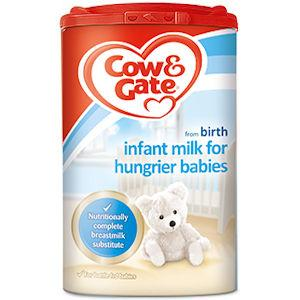 Cow & Gate Infant Milk For Hungrier Babies 900g